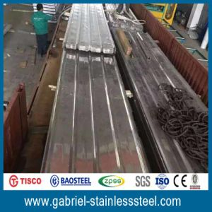 Softtextile Corrugated Galvanized and Color Steel Sheet pictures & photos