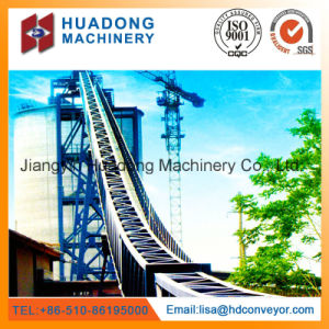 Chemical Material Handling Pipe Belt Conveyor pictures & photos