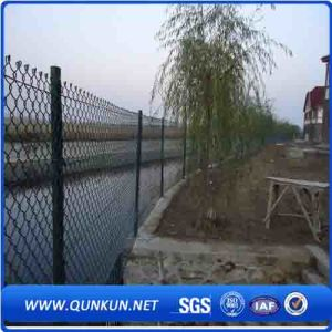 Galvanized Diamond Chain Link Fence for Sale pictures & photos