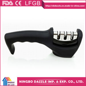 Wholesale Professional Ceramic 3 Stage Kitchen Knife Sharpener for Knives pictures & photos