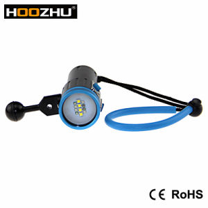 Hot Selling CREE Xml 2 LED Max 2600 Lm Waterproof 100m Diving Light with Five Color Light for Video pictures & photos