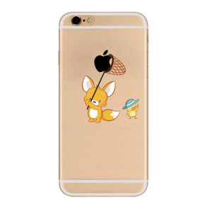 Little Bear Cartoon Pictures Mobile Phone Case for iPhone 5/6/7 pictures & photos