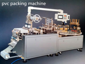 High Speed with Video PVC-Papercard Sealing Machine for Comsumer Goods Packing pictures & photos