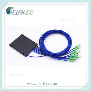 FTTH ABS Box 1X7 Fiber Optical Splitter pictures & photos