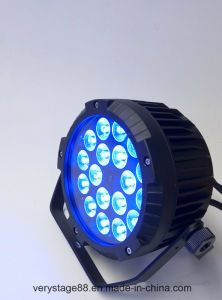 Outdoor LED PAR Can 18X10W RGBW Stage Light pictures & photos