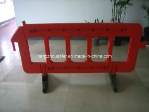Red, Yellow Color Road Barrier with Engineering Reflectice Tape (S-1644B) pictures & photos