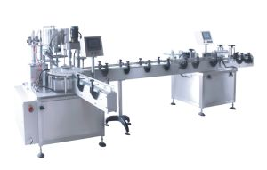 Filling and Capping Machine+Labeling Machine From China pictures & photos