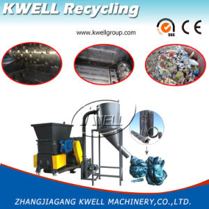 Two in One Single Shredder and Crusher/Granulator for Pipe Barrel pictures & photos