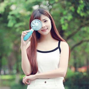 Portable Table Fan USB Cooling Fan Handy Mini Fan Hand-Held Fan pictures & photos