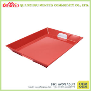 Superior Quality FDA Approved Melamine Tray with Handles pictures & photos