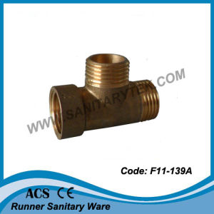 3 Way Brass Connector / Fitting (F11-139) pictures & photos
