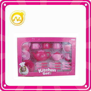 Plastic Kitchen Play Set Toys pictures & photos