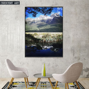 Modern Peaceful Countryside Photo Print on Canvas pictures & photos