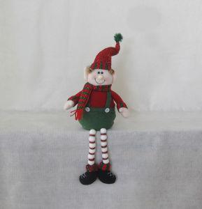 Pompom Legged Christmas Decoration Figurine-4asst pictures & photos