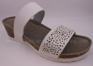 2017 Cork Shoes Cork Slipper Birken Stock Ladies Wedge Sandal pictures & photos