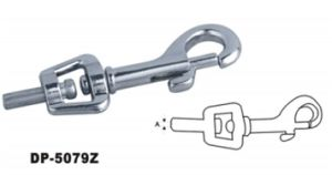 Zinc Alloy Bolt Snap with Swivel pictures & photos