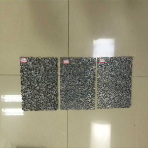 Closed Cell Aluminum Foam Used for Noise Barrier Panel pictures & photos