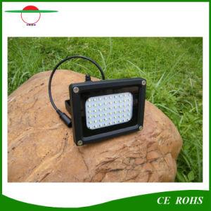 5W Solar Flood Light Waterproof IP65 Outdoor Solar Floodlight 54LED High Brightness Garden Light pictures & photos