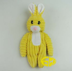 Pet Plush Toy of Rabbit for Dog′s Bite and Chew pictures & photos