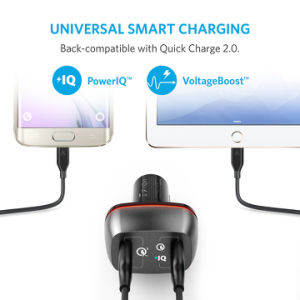 Anker 42W 2-Port USB Car Charger with Quick Charge 3.0 pictures & photos