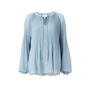 100% Polyester Romantic Soft Blouse pictures & photos