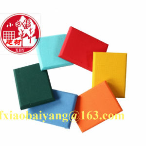 Fireproof Fiberglass Wall Panel Acoustic Panel Ceiling Panel Decoration Panel pictures & photos