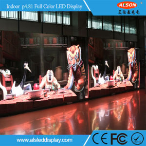 Rental Stage Events Indoor Full Color P4.81 LED Module Display pictures & photos
