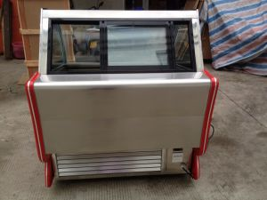 High Effic Competitive Stainless Steel Commercial Ice Cream Showcase pictures & photos