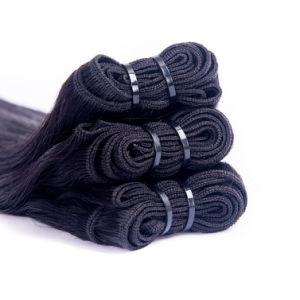 Silk Straight 100% Unprocessed Brazilian Vrigin Human Hair Extension pictures & photos