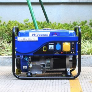 Bison (China) BS6500p 5kw 5kVA 5000W 1year Warranty Durable Copper Wire Power Portable Silent Generator for Export pictures & photos
