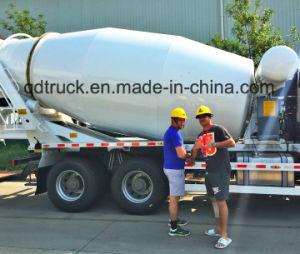 8-12 m3 concrete mixer truck, HOWO cement mixer truck pictures & photos