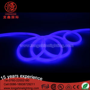 220V LED Round Flexible Neon Light for Christmas Decoration pictures & photos