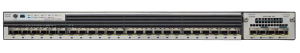 New Cisco Catalyst C3750X 24 Port Gigabit SFP Ethernet Switch (WS-C3750X-24S-S) pictures & photos