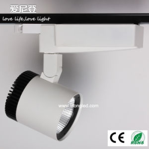 Citizen COB LED Track Light 30W High CRI LED Track Shop Light with Ce RoHS pictures & photos
