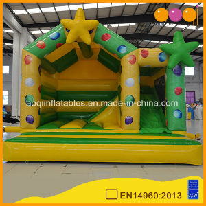 Star Combo Inflatable Jumping Bouncer with Slide (AQ07168-1) pictures & photos