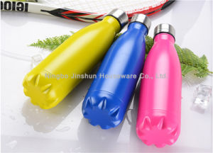 17/25oz Cola Shape Tumbler Double Wall Vacuum Stainless Steel Water Bottle pictures & photos