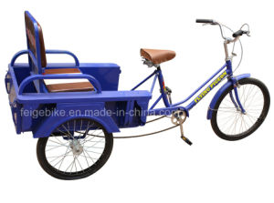 Foldable Seat Elder People Three Wheel Tricycle (FP-TRCY026) pictures & photos