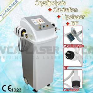 Cavitation+Cryolipolysis+Lipolaser+RF Fat Removal Slimming Machine (VS-300C) Liposuction Beauty Machine pictures & photos