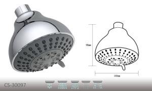 "CS-30097 5-Function Water Sense 4"" Shower Head pictures & photos"