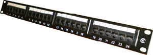 UTP Cat6 Patch Panel 24 Port (LMS-246)