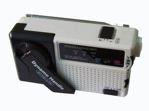 Protable Mini Dynamo Radio Flashlight pictures & photos