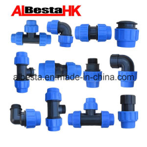 PE Compression Fittings with Competitive Price pictures & photos