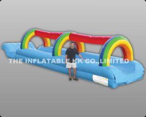 Inflatable Splash Tunnel Slide Inflatable Slide Water Sport Game