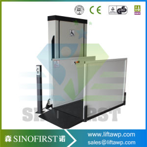 200kg 1.5m Outdoors Household Residential Elevators Disable Lift Platform pictures & photos