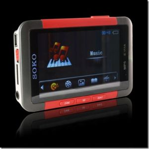 3.0 TFT 16: 9 Screen USB 2.0 4G MP4/MP5 Player FM & MIC