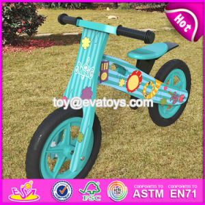 New Design Original Work Children Wooden Balance Bikes for Boys W16c178 pictures & photos
