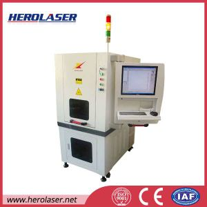 Ultra Precision Electronic Components Battery Charger Ultraviolet Laser Marking Machine 3W pictures & photos