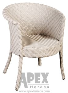 Florence Wicker Arm Chair Outdoor Furniture Dining Rattan Chair (AS1057AR) pictures & photos
