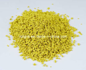 Yellow EPDM Rubber Granule (RN-4) pictures & photos