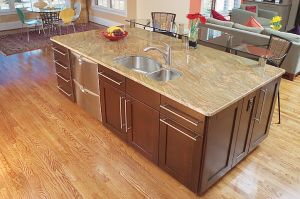 Granite Kitchen Island Tops, Granite Worktop